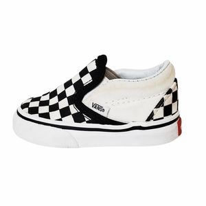 Vans Slip-on Checkered Sneakers Size 3